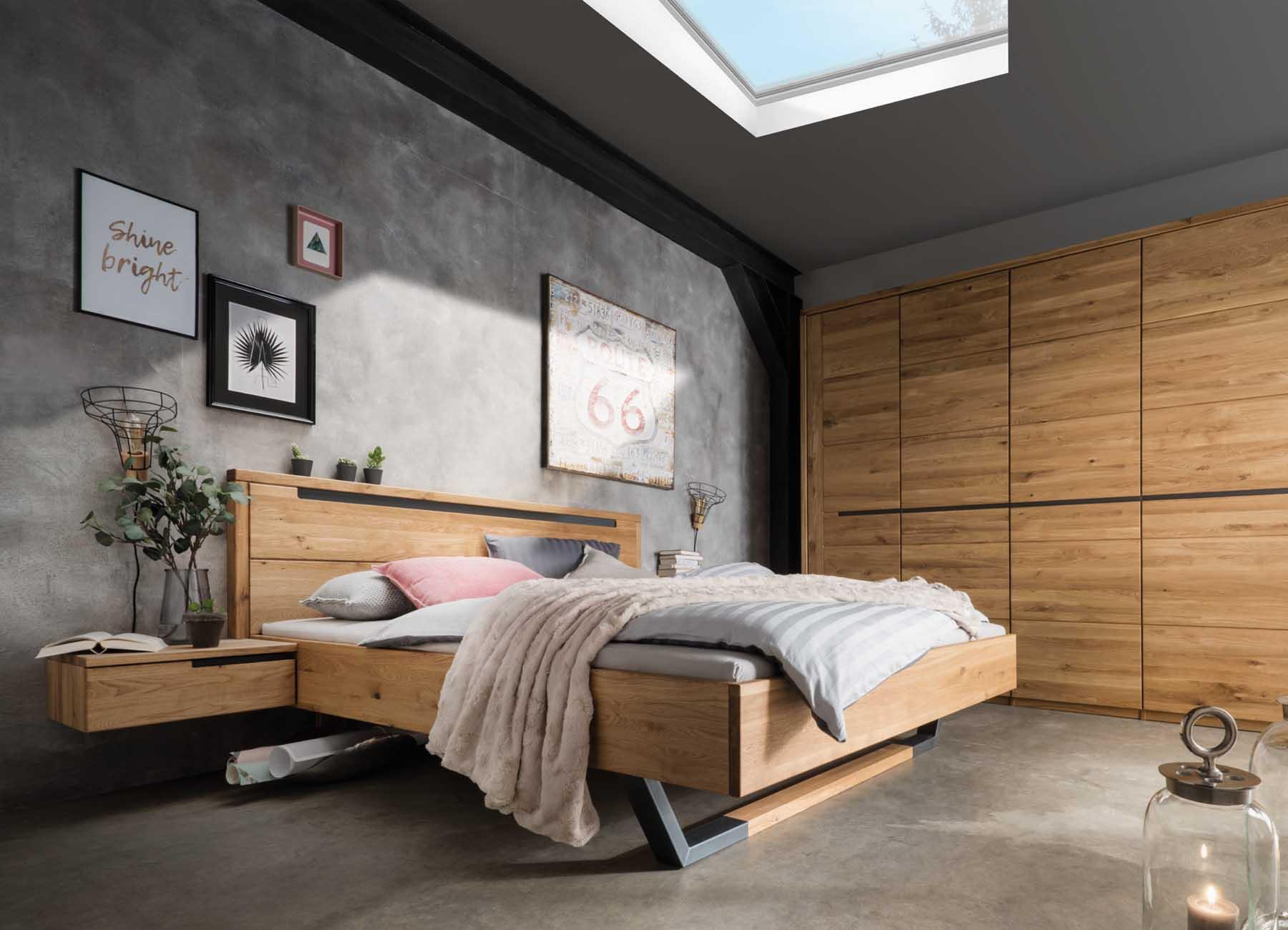Schlafzimmer Möbel Aus Massivholz Schrank Bett Kommoden